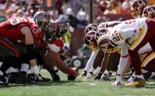Buccaneers Redskins Football